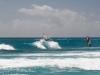 Kitesurfen auf Barbados / silver sands