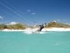 Kitesurfen / silver sands / Karibik