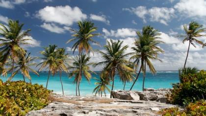 Kitesurfen auf der Insel Barbados