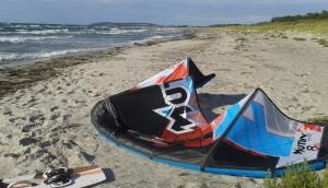 Kitesurfen auf der Insel Hiddensee